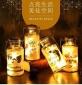 手提可���DIY星空瓶 玻璃�S愿瓶 LED木塞�舸���意�l光��┭b�瓶