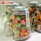 定制玻璃糖果瓶 120ML梅森糖果罐 带铝盖澳洲手工糖喜糖瓶批发